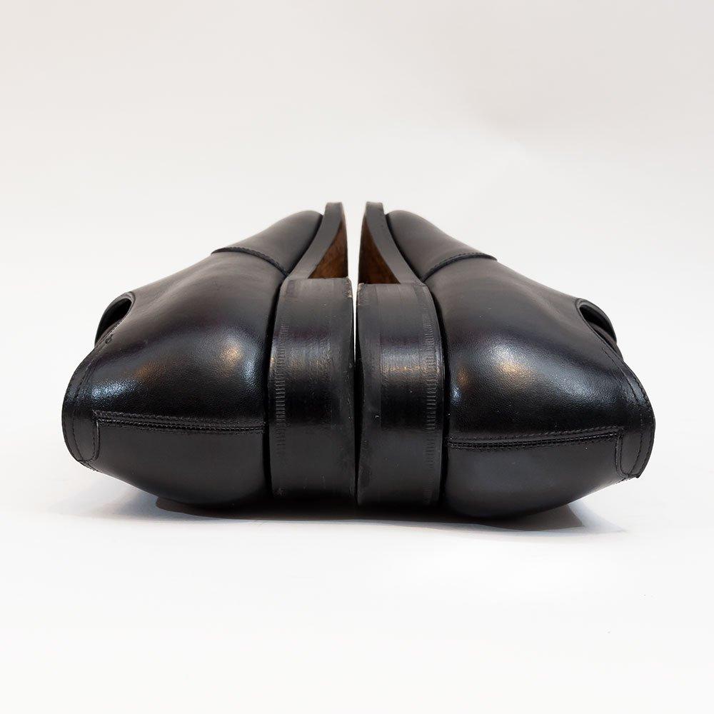 レンド 7702 パンチドキャップトゥ アノネイ ブラック パターンオーダー品 745ラスト サイズ8.5E