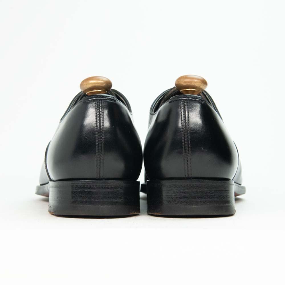 エドワードグリーン BERKELEY【バークレー】 パンチドキャップトゥ ブラック 888ラスト サイズ5E