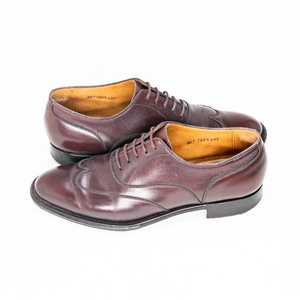 大塚製靴 ブラインドブローグ アノネイ ハーフメジャー オーダー品 サイズ23.5