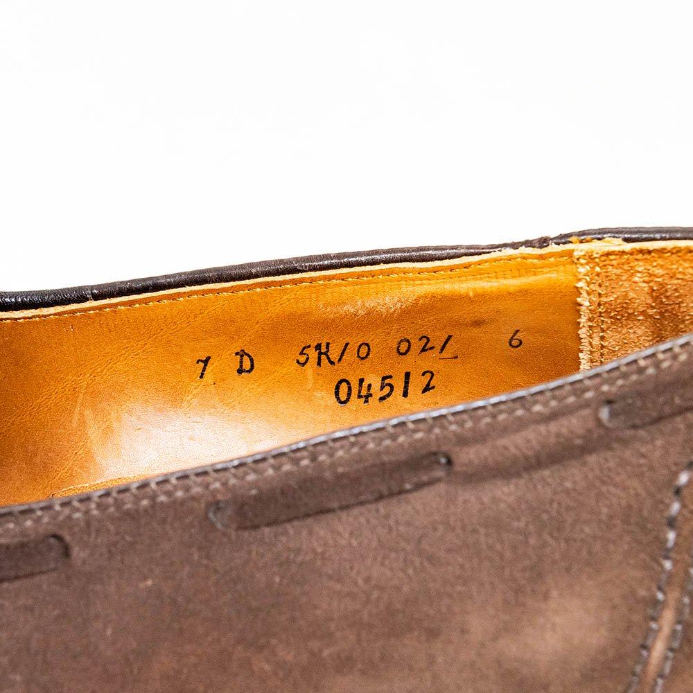 オールデン 04512 タッセルローファー スエード ブルックスブラザーズ別注 サイズ7D