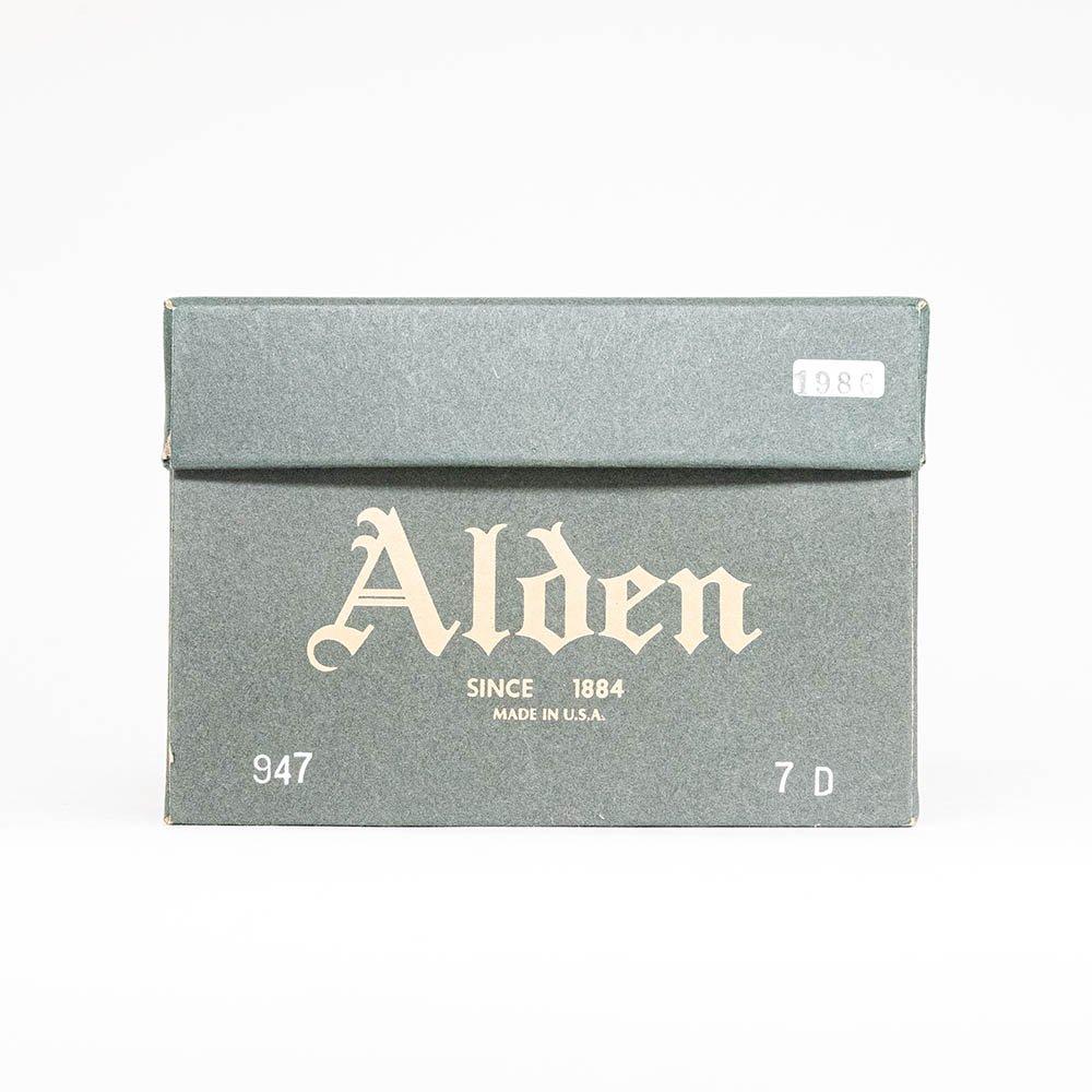 オールデン 947 プレーントゥ アルパインカーフ サイズ7D