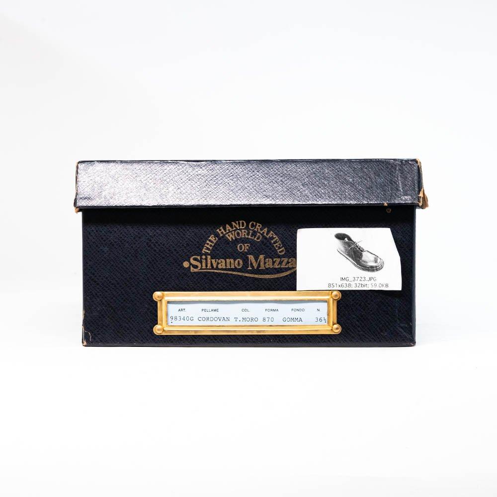シルバノマッツァ 98340G Uチップ ブーツ ブラウン レディース サイズ36.5