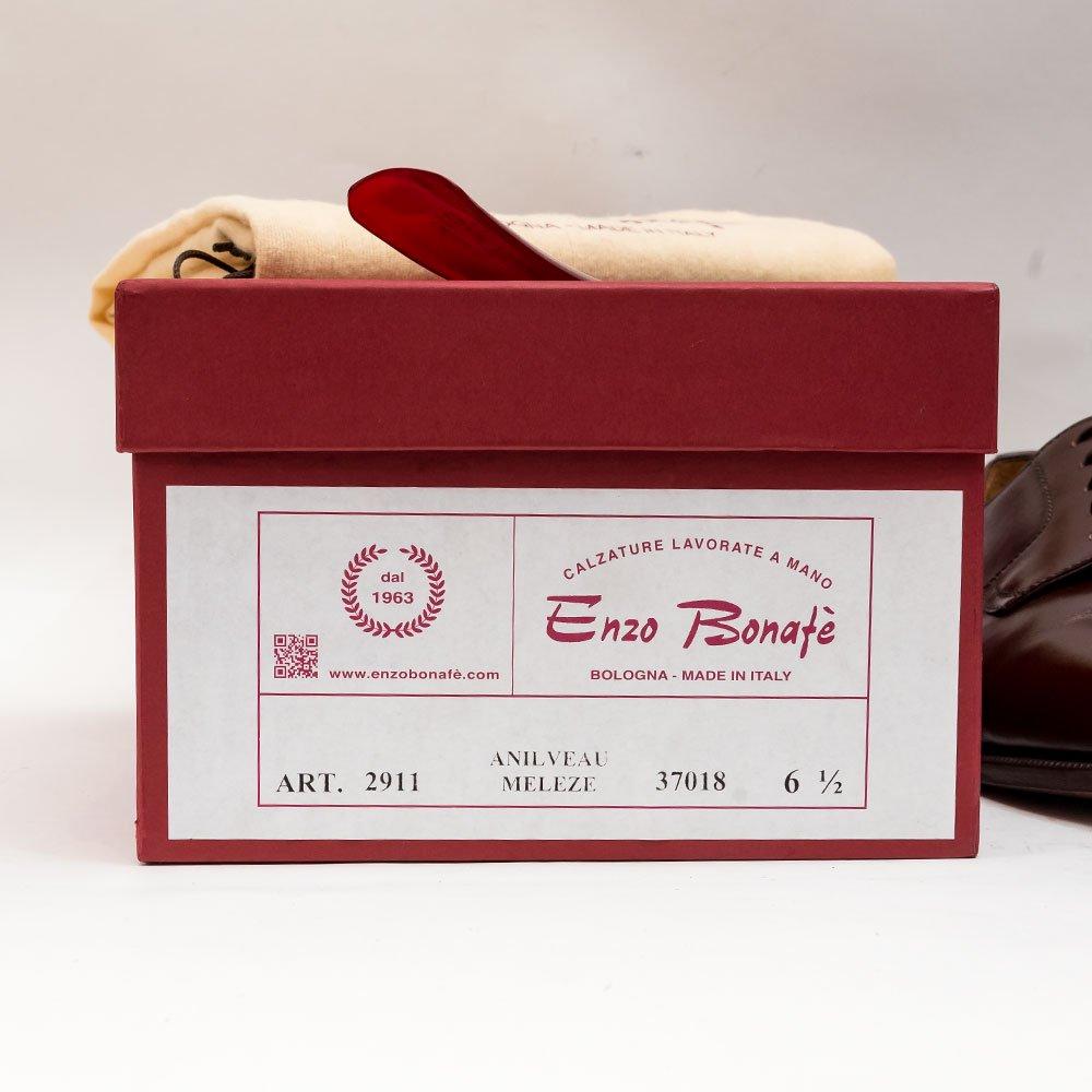 エンツォボナフェ 2911 プレーントゥ  サイズ6.5