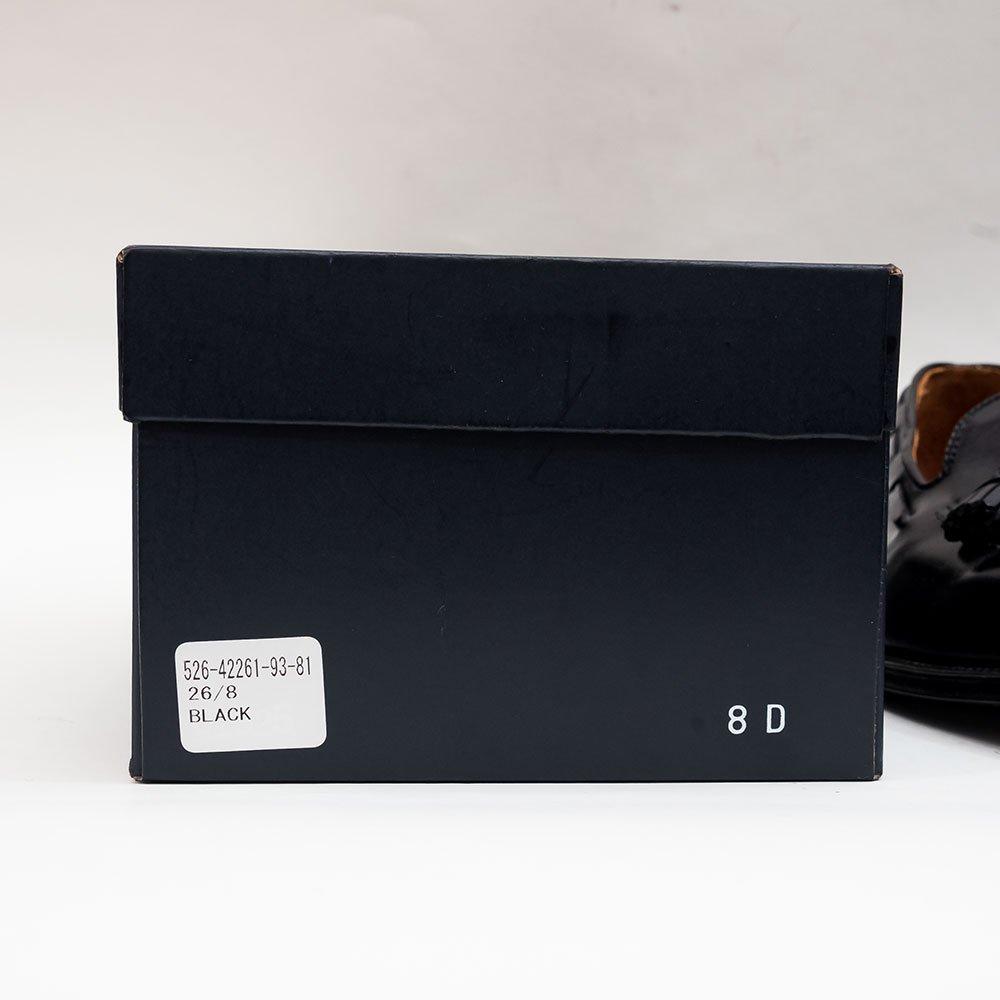 オールデン 01925 タッセルローファー ブラック BROOKS BROTHERS別注 サイズ8D