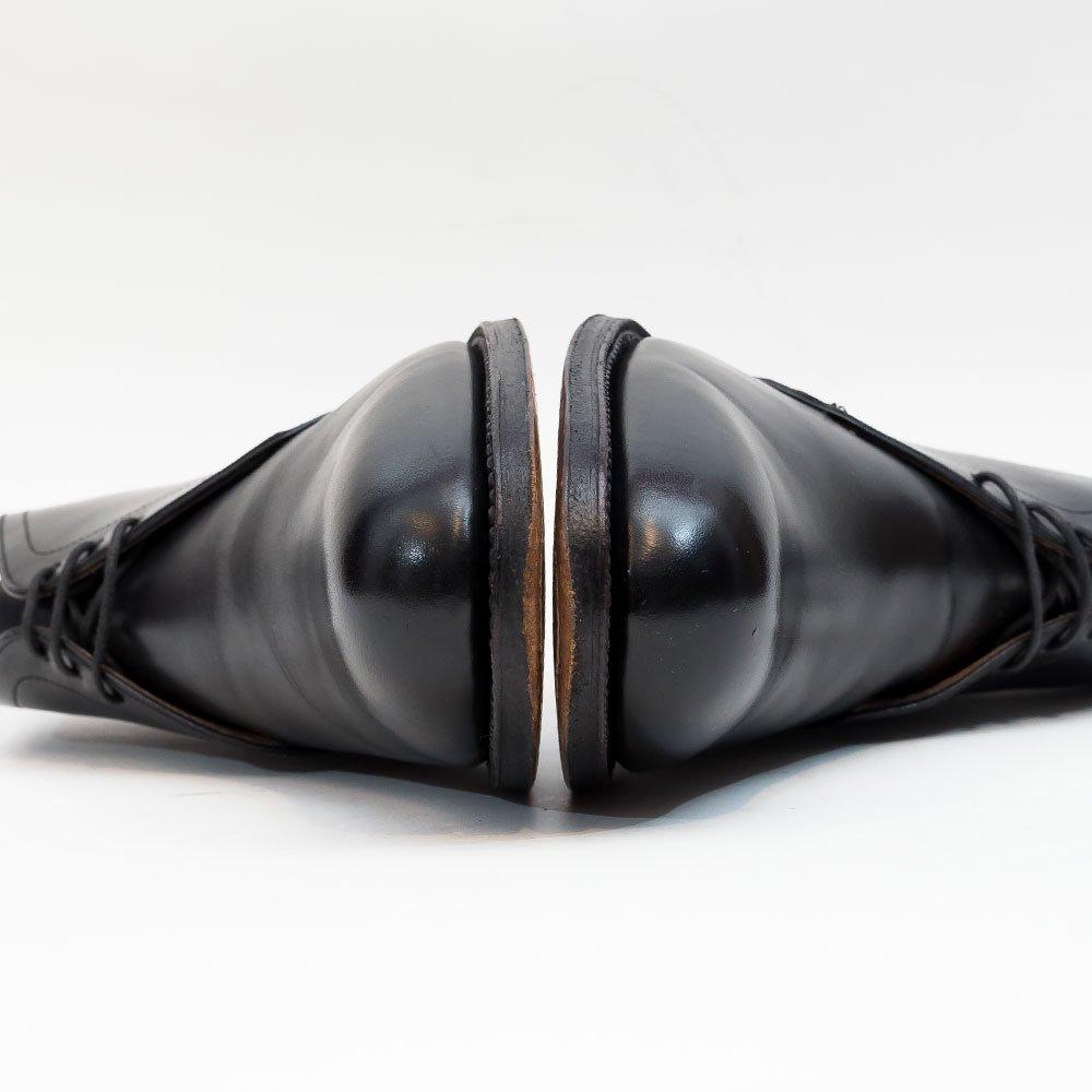 カルミナ 7493 チャッカブーツ ブラック アルバラデホ名義 トレーディングポスト別注 サイズ5.5