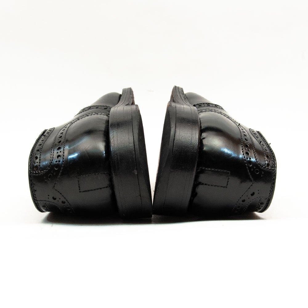 オールデン 2146 外羽根セミブローグ ブラック コードバン サイズ8E