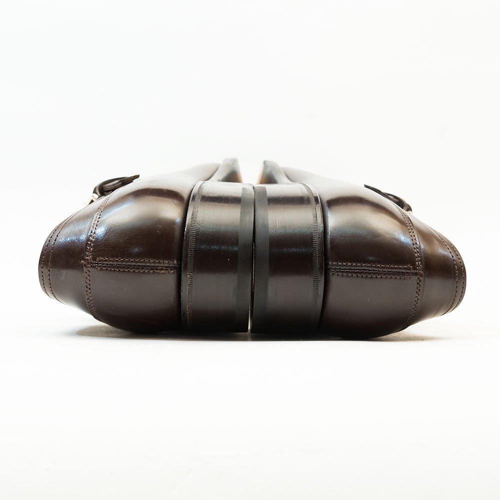 ジョンロブ BERKLEY【バークレー】サイドモンク シングルモンク ダークブラウン プレステージライン サイズ6.5E