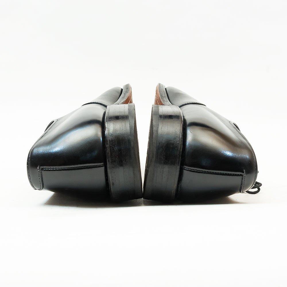 アレンエドモンズ FIFTH AVENUE【フィフスアベニュー】内羽根パンチドキャップトゥ ブラック 80年代 サイズ8.5B
