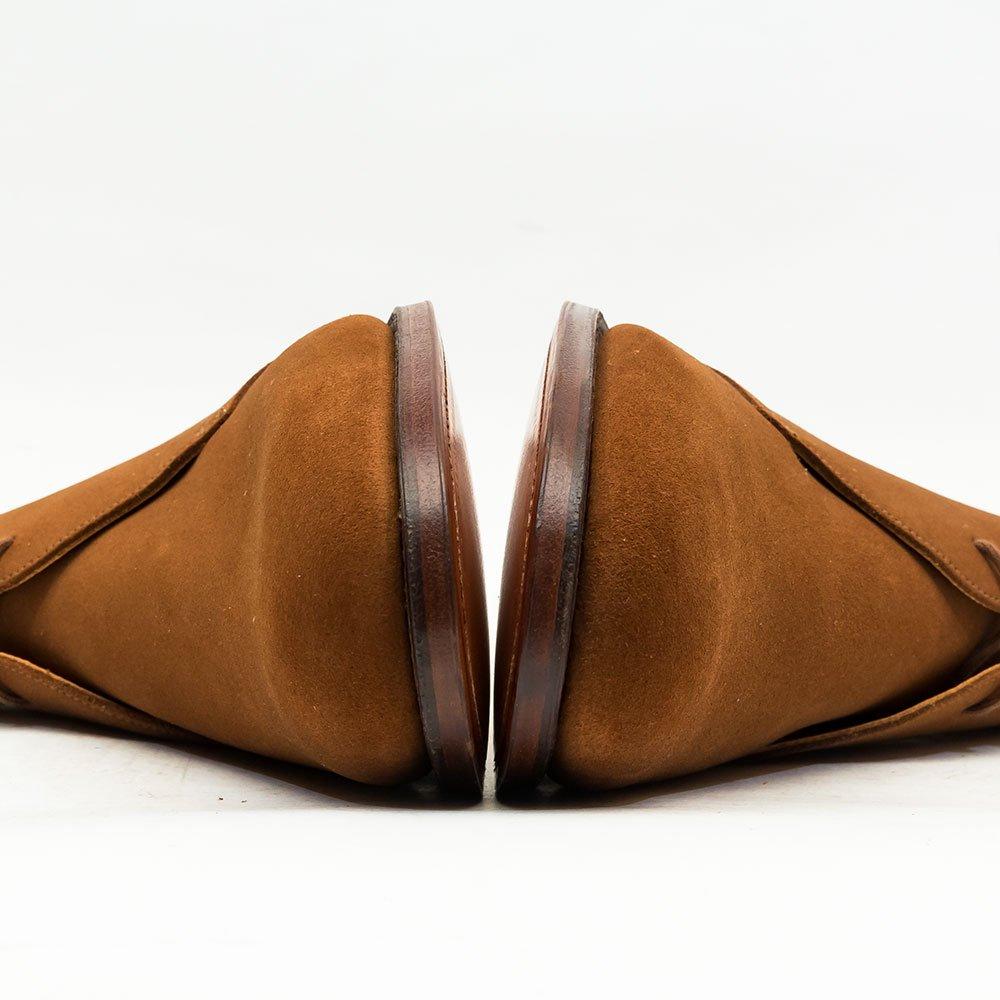 クロケット&ジョーンズ CHERTSEY【チャートシー】チャッカブーツ ブラウン タバコスエード サイズ8.5E