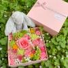 生花ボックスフラワー