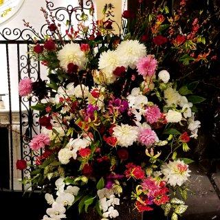 【スタンド2段】70000円おまかせスタンド花