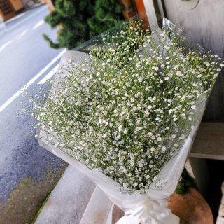 かすみ草の花束Mサイズ