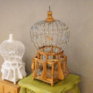 ハンドメイド Bird house ナチュラル 45cm