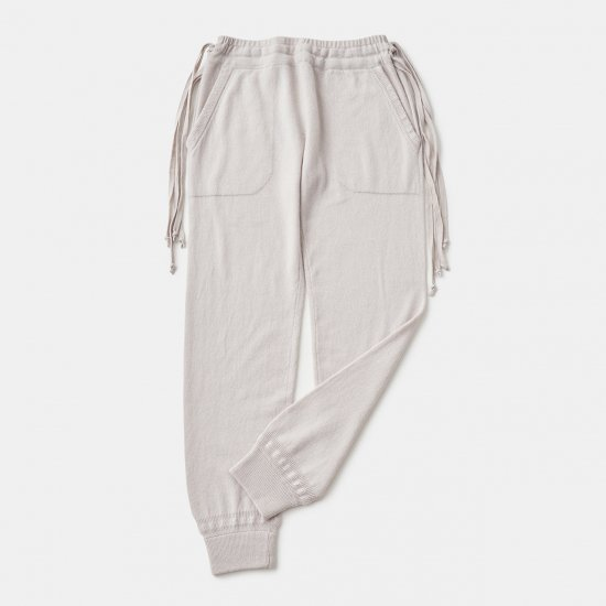 CASHMERE Basic Pants<BR>PALE JUTE