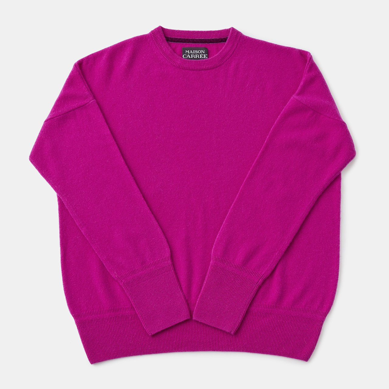 CASHMERE Basic Tops<BR>PINK