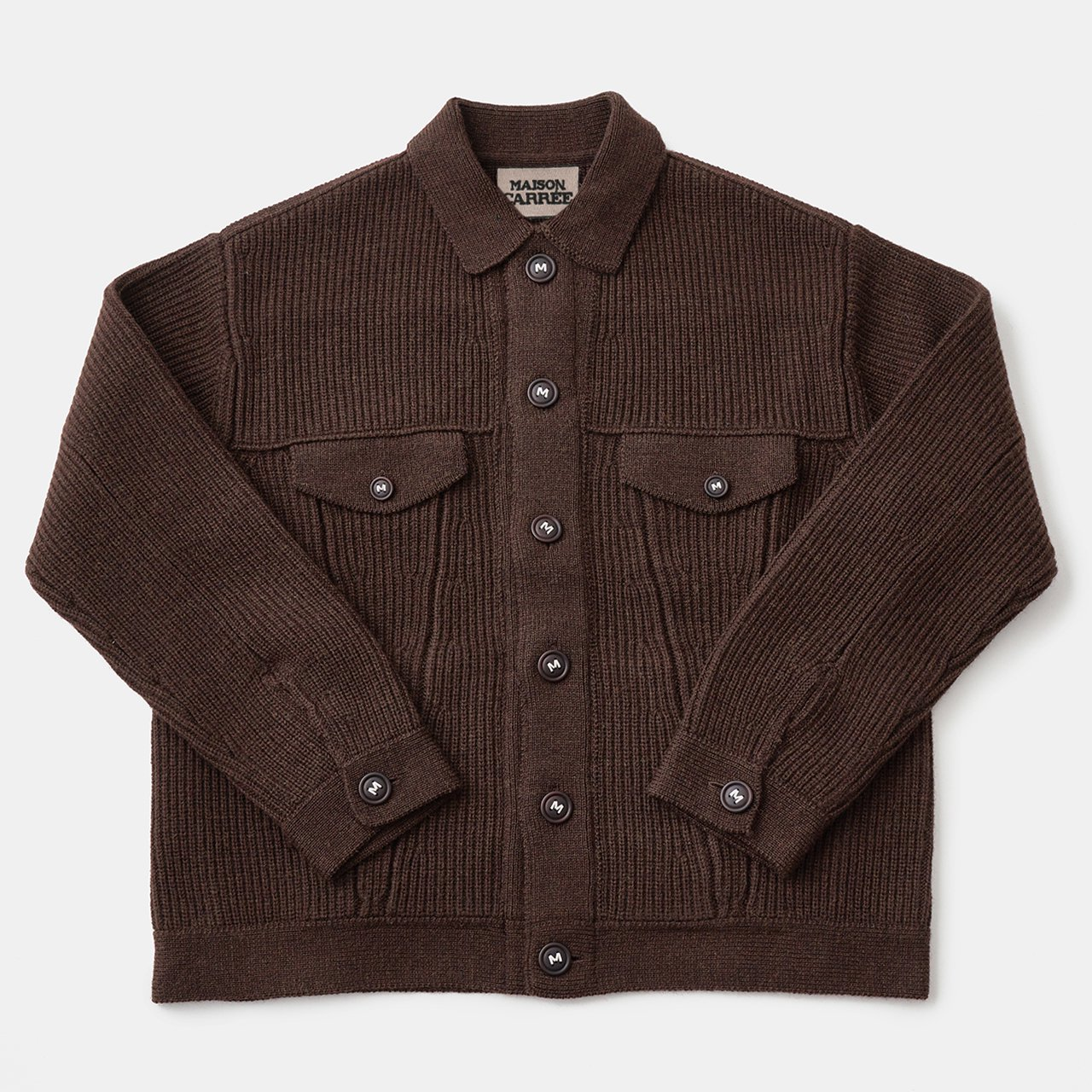 WOOL G-Jyan<BR>BROWN