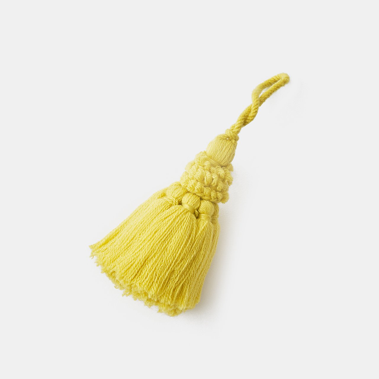CASHMERE TASSEL<BR>CHICK YELLOW