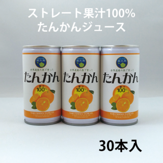 たんかんジュース(30本セット)