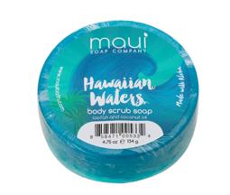 Maui Soap Company スクラブソープ:ハワイアンウォーター 4.7oz (133 g)