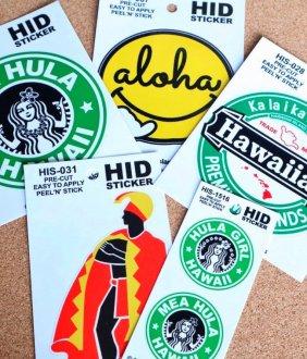 Hawaiian  ステッカー