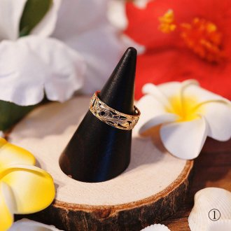 【Hawaiian Jewelry】 14金 #15 KAHIKO【リング】