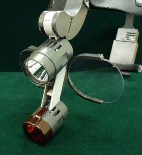 ドクターキムヘッドランプ用ルーペ(3.0倍)※瞳孔間距離62ミリ