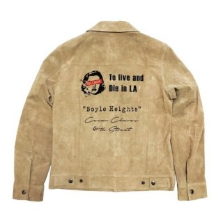 Type 3 SUEDE JACKET To live and Die in LA