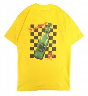 CHECKER BOTTLE TEE