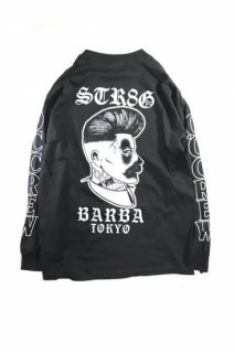 <img class='new_mark_img1' src='https://img.shop-pro.jp/img/new/icons1.gif' style='border:none;display:inline;margin:0px;padding:0px;width:auto;' />Barber Life L/S Tee LA x Tokyo