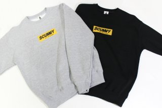SCUMMY BOX LOGO CREW NECK