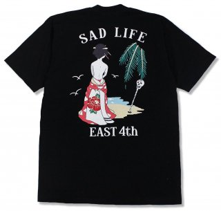 """<img class='new_mark_img1' src='https://img.shop-pro.jp/img/new/icons1.gif' style='border:none;display:inline;margin:0px;padding:0px;width:auto;' />""""SAD LIFE"""" Tee"""