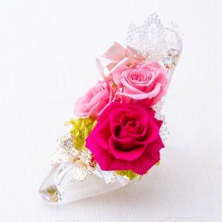夢のガラスのくつ Lovely【ピンク】