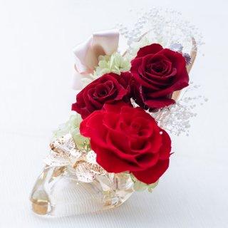 夢のガラスのくつ Lovely【レッド】