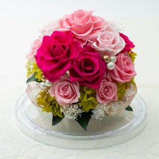 最愛の人に贈るドームフラワー(ピンク)