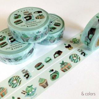 チョコミント マスキングテープ