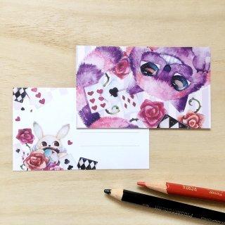 チャシャ猫 メッセージカード