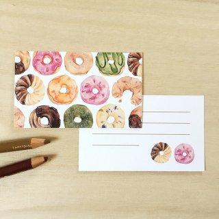 ドーナツ メッセージカード