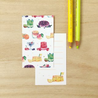 フルーツゼリー メッセージカード