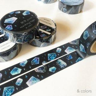 星空jewel(黒) マスキングテープ