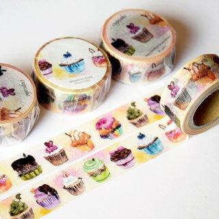 カップケーキ マスキングテープ