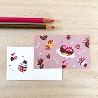 チョコ メッセージカード