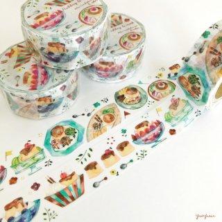 【15日22時〜】プリンアラモード マスキングテープ