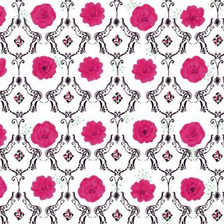 プードルに添えてpink   poodle_ni_soete_pink