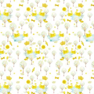 白鳥と光る森 swan_to_hikarumori