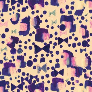 リボンドット_violet_pink Ribbondot_violet_pink