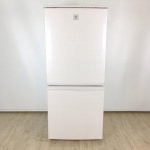 【送料無料】シャープ冷蔵庫 SJ-PD14A-C 2015年製【中古】