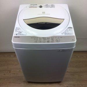 【送料無料】東芝TOSHIBA洗濯機2016年 AW-5G3(W)【中古】