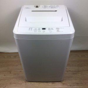 【送料無料】無印良品の洗濯機2017年AQW-MJ45【中古】