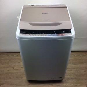 【送料無料】HITACHI(日立)洗濯機2017年BW-V80B【中古】