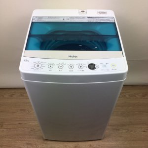 【送料無料】Haier(ハイアール)洗濯機2019年JW-C45A【中古】